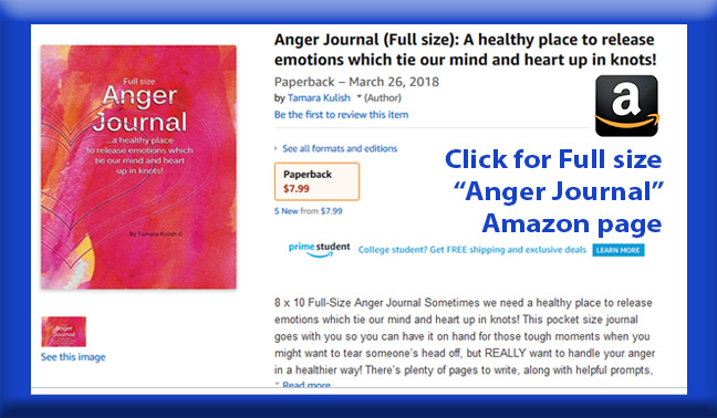 Anger Journal Full size page button