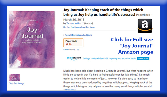 Joy Journal Full size book page button