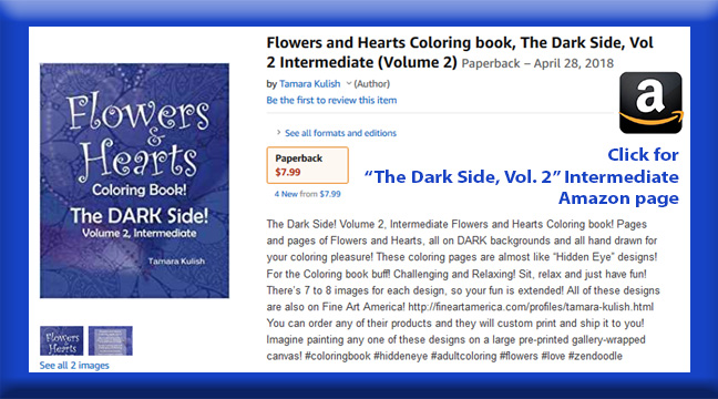 The Dark Side, Vol 2 Intermediate book page button